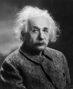 アインシュタイン の肖像写真