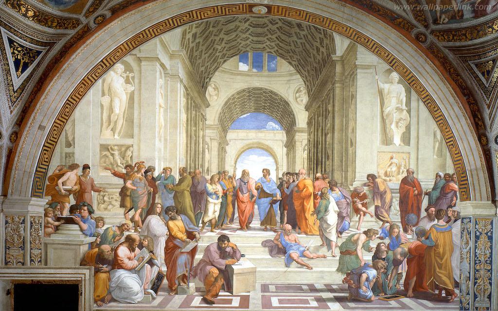 なるほど名画解説!−ラファエロ『アテネの学堂』−