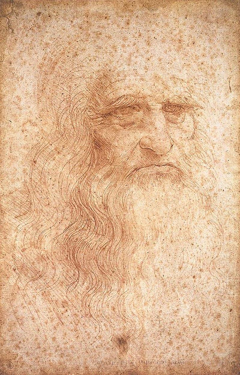 レオナルド=ダ=ヴィンチの肖像