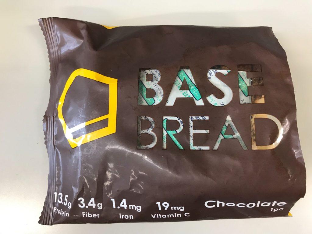 チョコ味のBASE BREAD