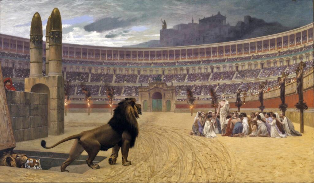 キリスト教徒の迫害