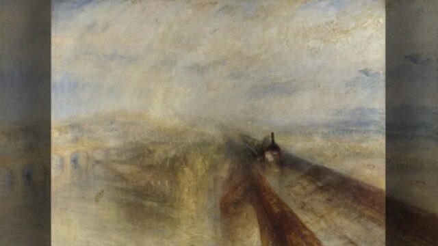 【解説】ターナー『雨、蒸気、速度』