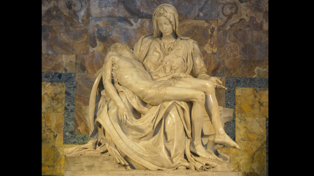 ミケランジェロ『サン・ピエトロのピエタ』