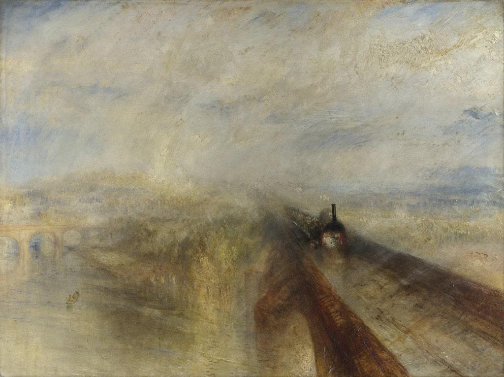 ターナー『雨、蒸気、速度――グレート・ウェスタン鉄道』