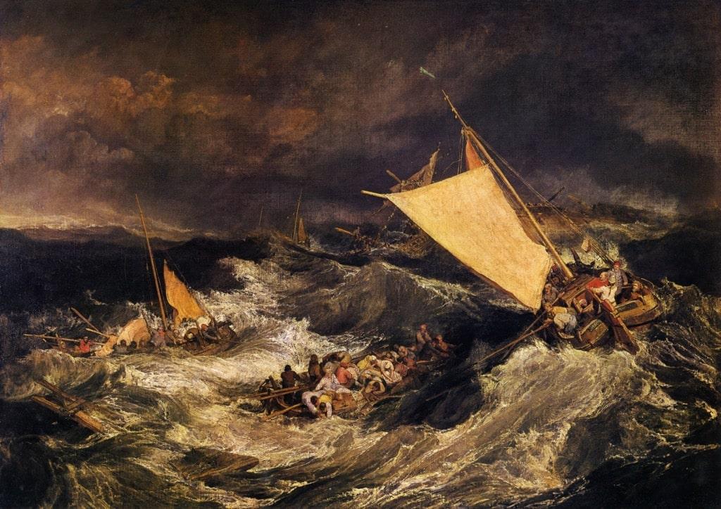 ターナー『難破船』