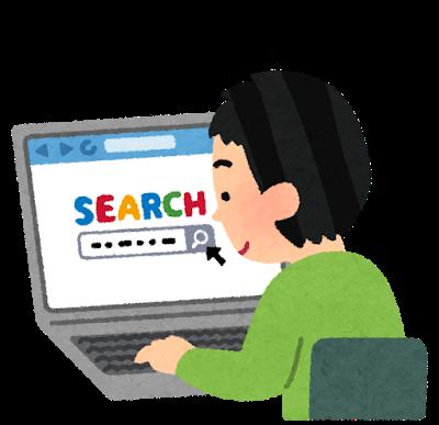 検索エンジンを使う人