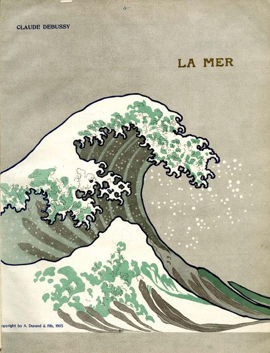 ドビュッシー『海』の表紙