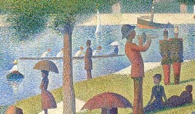 河辺の人々